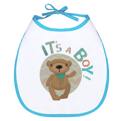 Слюнявчик It's a boy! / У вас мальчик!