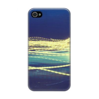 Чехол для iPhone 4/4s Light Waves
