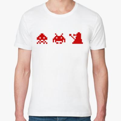 Футболка из органик-хлопка Dalek & Space Invaders