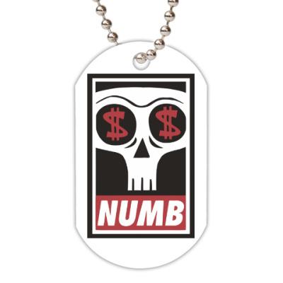 Жетон dog-tag Numb