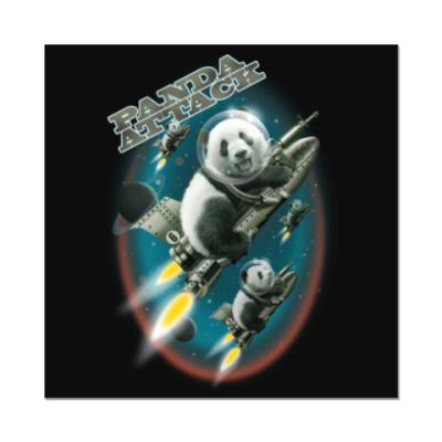 Наклейка (стикер) Панды атакуют