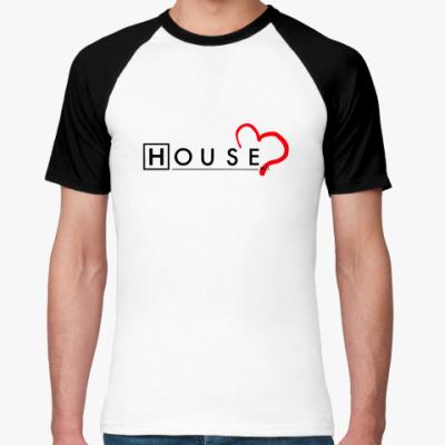 Футболка реглан House love