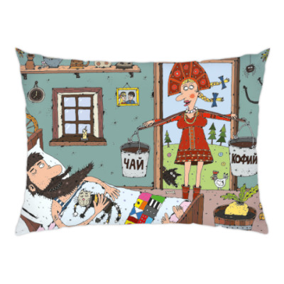 Подушка Доброе утро