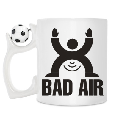 Кружка Плохой воздух