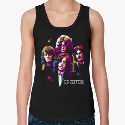 Женская майка Led Zeppelin