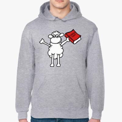 Толстовка худи Овца - С новым годом !