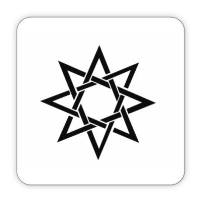 Костер (подставка под кружку) Звезда