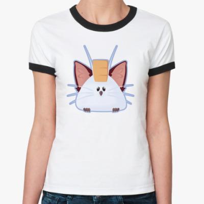 Женская футболка Ringer-T Орль
