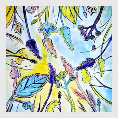 Постер Весенний сад