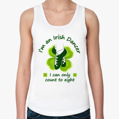 Женская майка Irish Dancer