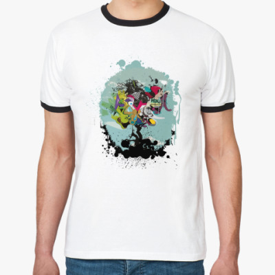 Футболка Ringer-T Dota: Душа Дерева