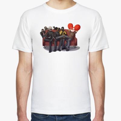 Футболка Party Daft Punk Deadmau5