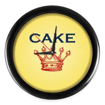 Настенные часы Cake
