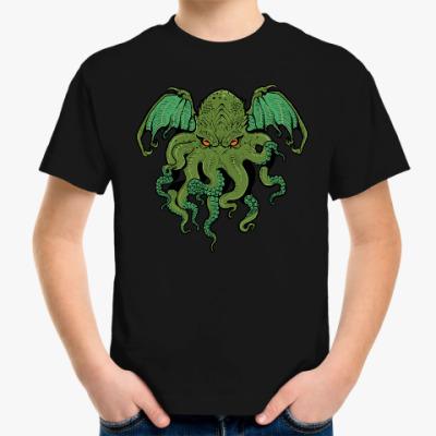 Детская футболка Осьминог