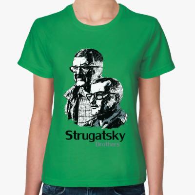 Женская футболка Братья Стругацкие