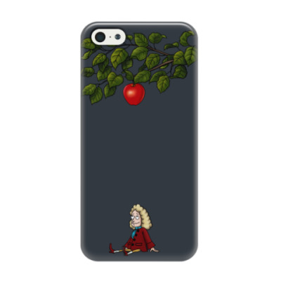 Чехол для iPhone 5/5s Sir Isaac Newton