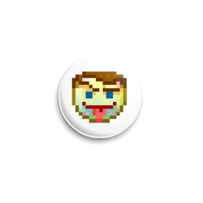 Значок 25мм  ICQ Статус #13