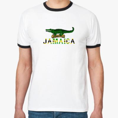 Футболка Ringer-T Jamaica ProstoGeo