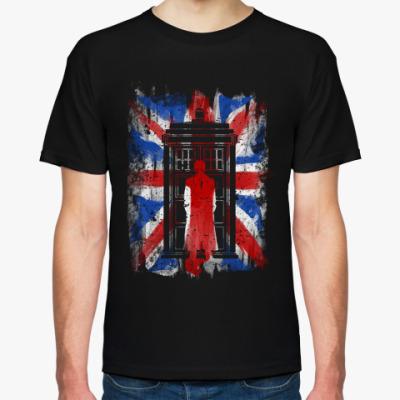 Футболка 10th флаг UK (Доктор Кто)