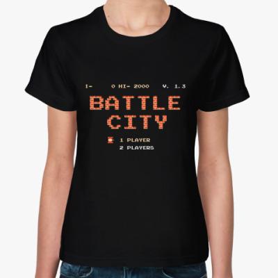 Женская футболка Battle City