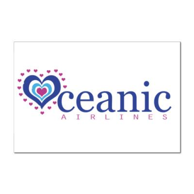 Наклейка (стикер)   Oceanic