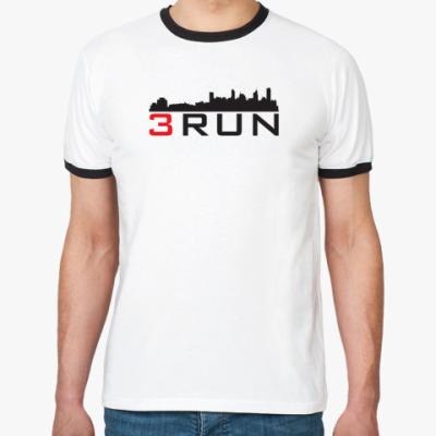 Футболка Ringer-T  3Run Urban