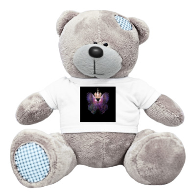 Плюшевый мишка Тедди арт-бабочка