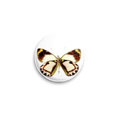 Значок 25мм  Бабочка 16