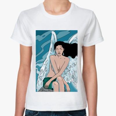 Классическая футболка Ангел