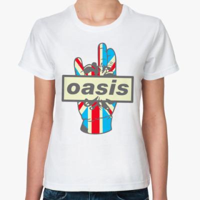 Классическая футболка Oasis