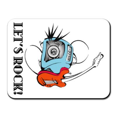 Коврик для мыши Let's Rock!