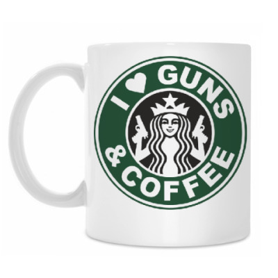 Кружка Guns & coffee