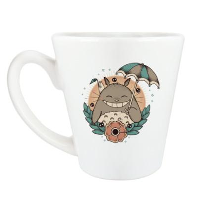 Чашка Латте Smile Totoro