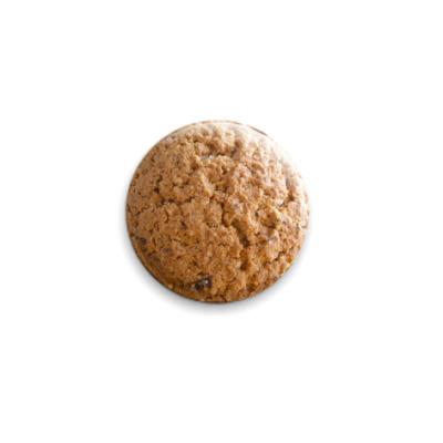 Значок 25мм Овсяная Печенька