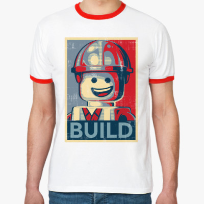 Футболка Ringer-T Лего Строитель