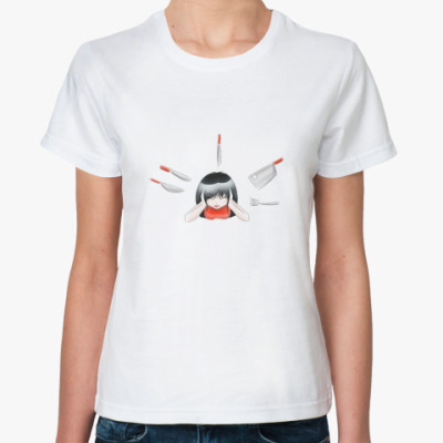 Классическая футболка 'Ножи'