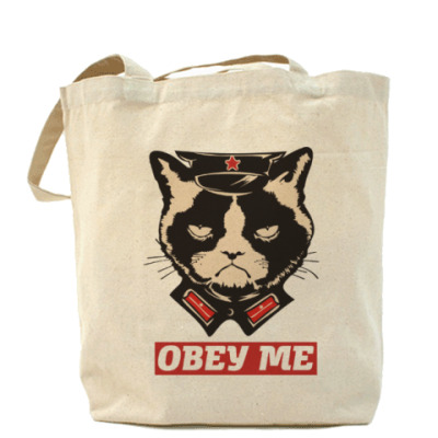 Сумка Obey the kitty