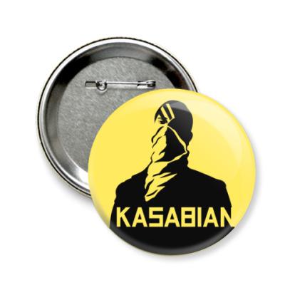 Значок 58мм Kasabian