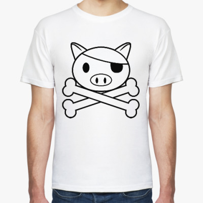Футболка Свинья