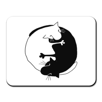 Коврик для мыши  Инь-Ян