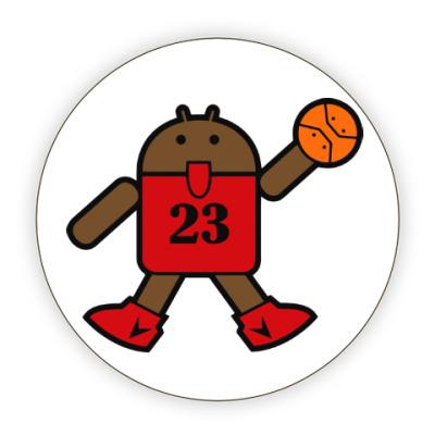 Костер (подставка под кружку) Jordan Android