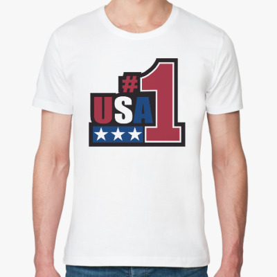 Футболка из органик-хлопка USA 1