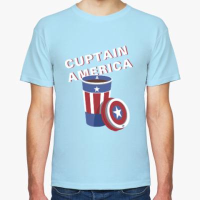 Футболка Cuptain America