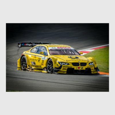 Постер BMW M3 DTM