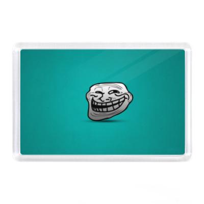 Магнит Troll face