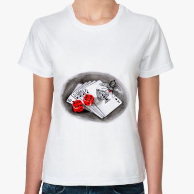 Классическая футболка Покер