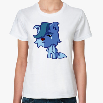 Классическая футболка 'Кот грустяка'