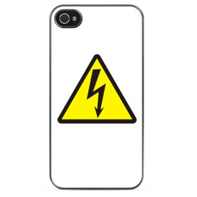 Чехол для iPhone Высокое напряжение