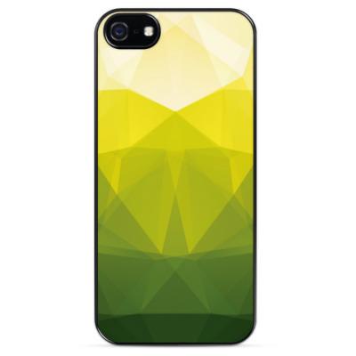 Чехол для iPhone Весенняя геометрия