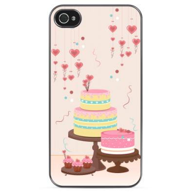 Чехол для iPhone Вкусные десерты